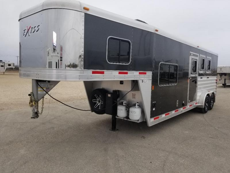 2017 Exiss Escape 7308 LQ Horse Trailer