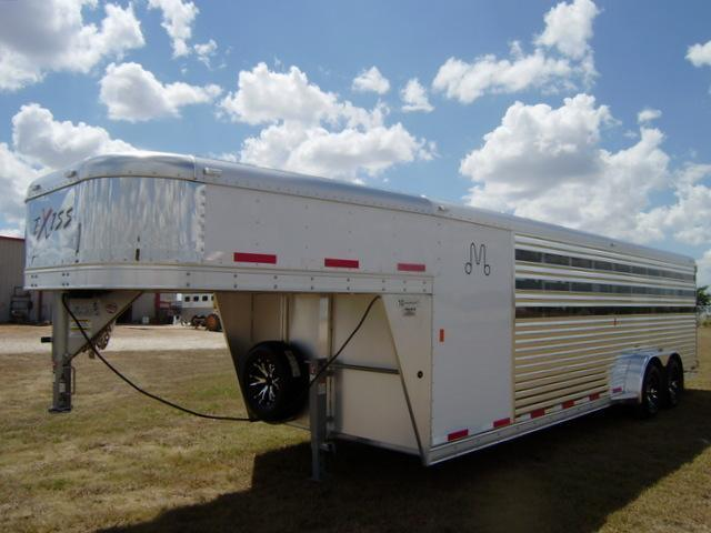 2015 Exiss 24' Low Profile Stock Combo Trailer