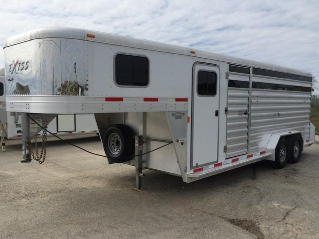 2013 Exiss 20' Stock Combo  Trailer