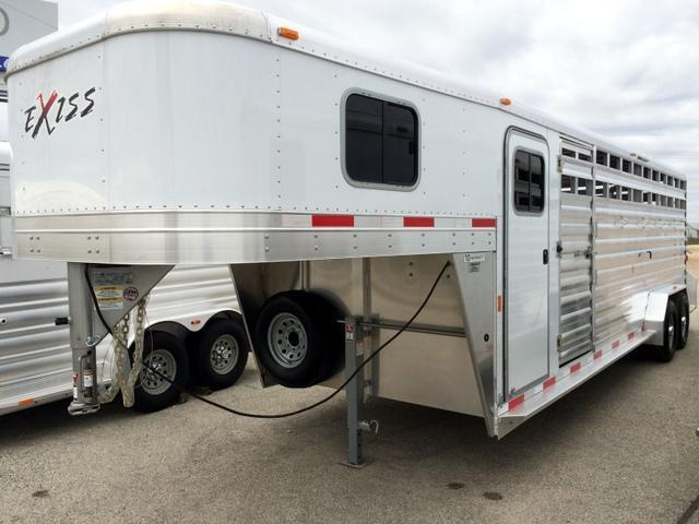 2015 Exiss 24' Stock Combo Trailer