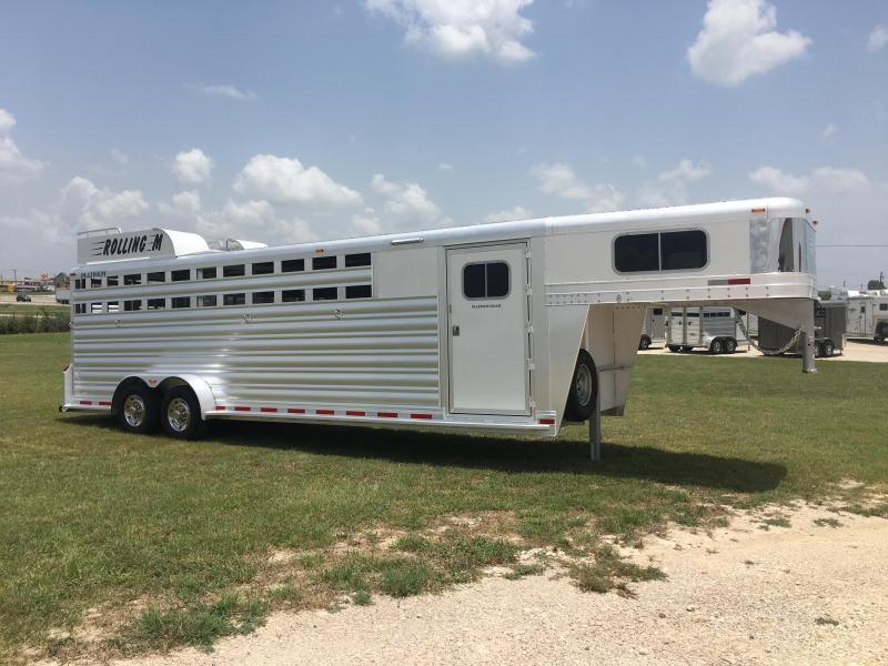 2020 Platinum Coach 26 ft Combo Sport Livestock Trailer