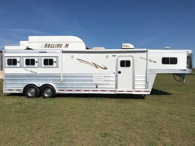 2015 Platinum Coach 3H 12' SW Horse Trailer
