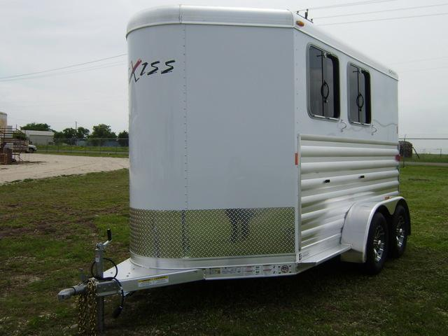 2015 Exiss 2 Horse Bumper Pull Horse Trailer