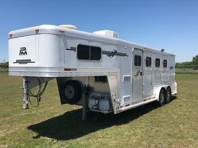 2010 Platinum 3H 6' SW Horse Trailer