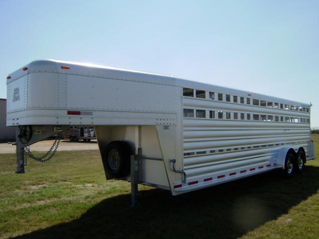 2015 Platinum Coach 24' Stock Trailer