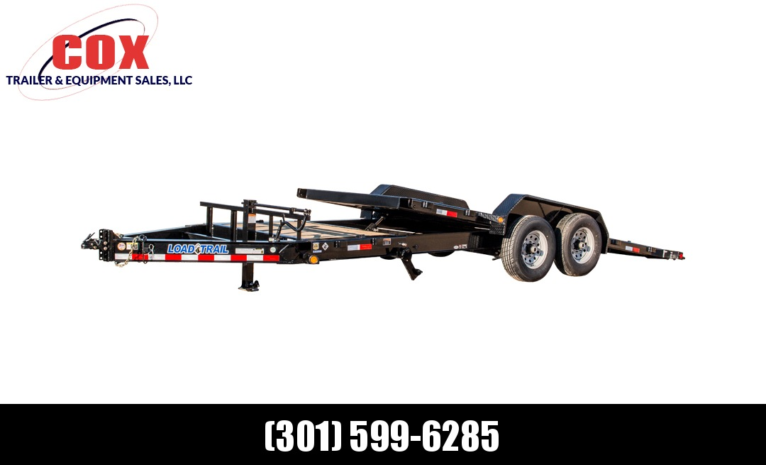 "2019 Load Trail 83"" X 20' Tilt-n-go Tandem Axle Equipment Trailer"