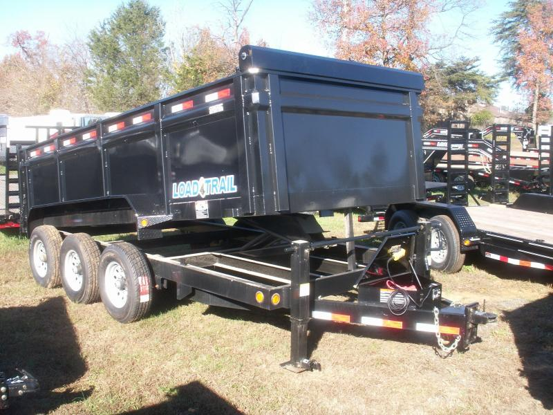 2018 Load Max TRIPLE AXLE EXTREME DUTY Dump Trailer