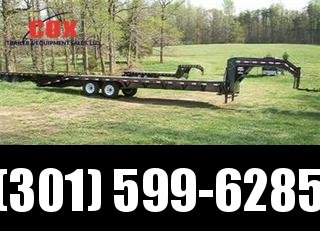 2015 Load Trail GN Flatbed with Dove Tail Equipment Trailers