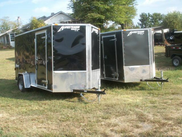 2017 Homesteader 12 PATRIOT SPECIAL V-NOSE REAR RAMP Cargo / Enclosed Trailer