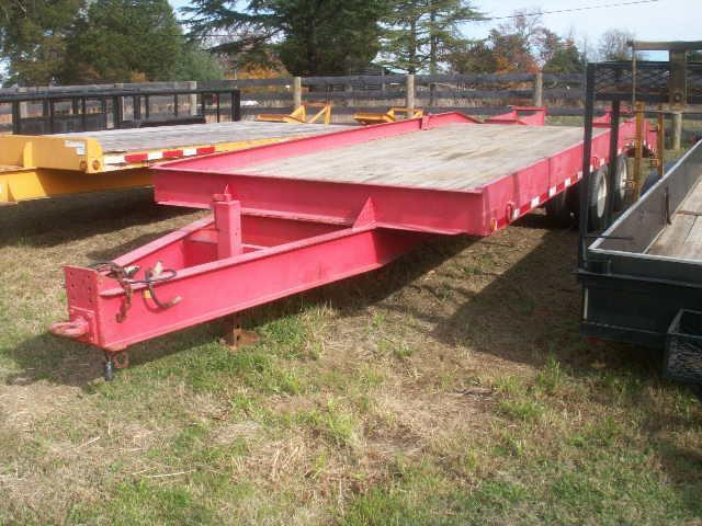 2000 10-TON AIR BRAKE PINTLE Equipment Trailers