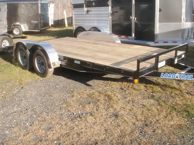 2017 Load Trail 16 SPECIAL CAR TRAILER Car / Racing Trailer