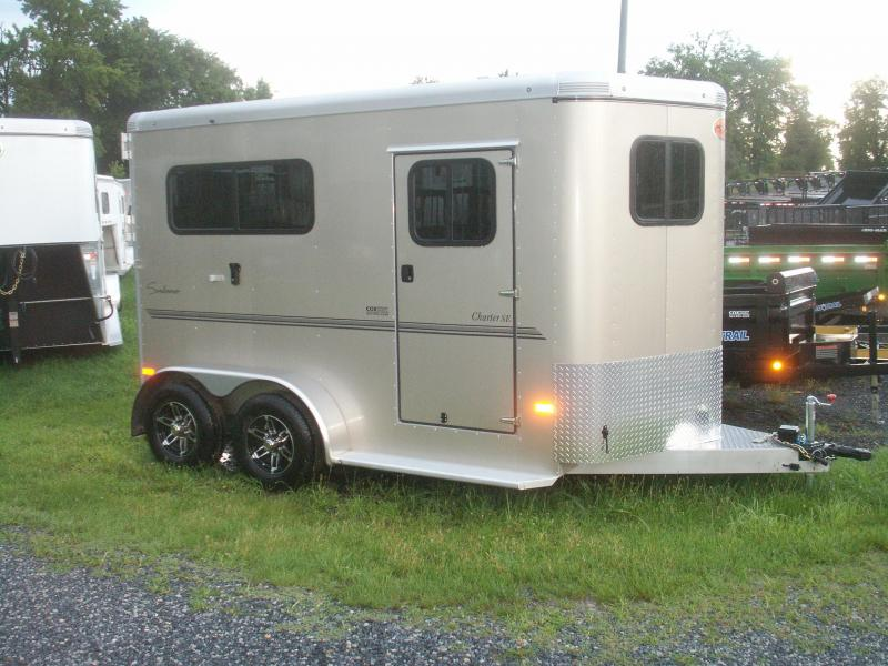2015 Sundowner Trailers 2-H EXT FRONT EXT HEIGHT Horse Trailer