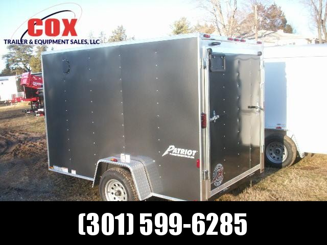 2018 Homesteader 610 V-NOSE RAMP DOOR Cargo / Enclosed Trailer