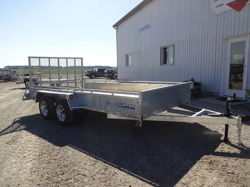 2016 Galvanized Solid Side Landscape 80x14!! Only $85/month!!