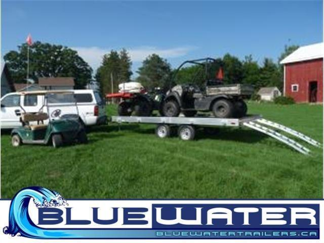 Premium Aluminum Tandem Axle ATV Master!!! ROOM FOR 4 ATVS!!!!