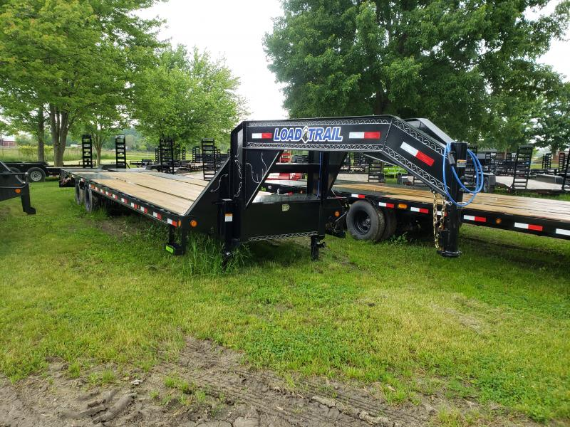 32' Low Profile Deckover 22K Gooseneck Equipment Trailer Load Trail Michigan's #1 selling brand of trailer