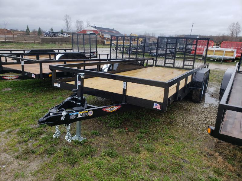 New 18' Heavy Duty Landscape Trailer By H&H