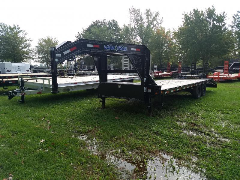 25' 14K Load Trail Gooseneck Equipment Trailer Michigan's #1 Selling Brand Of Trailers