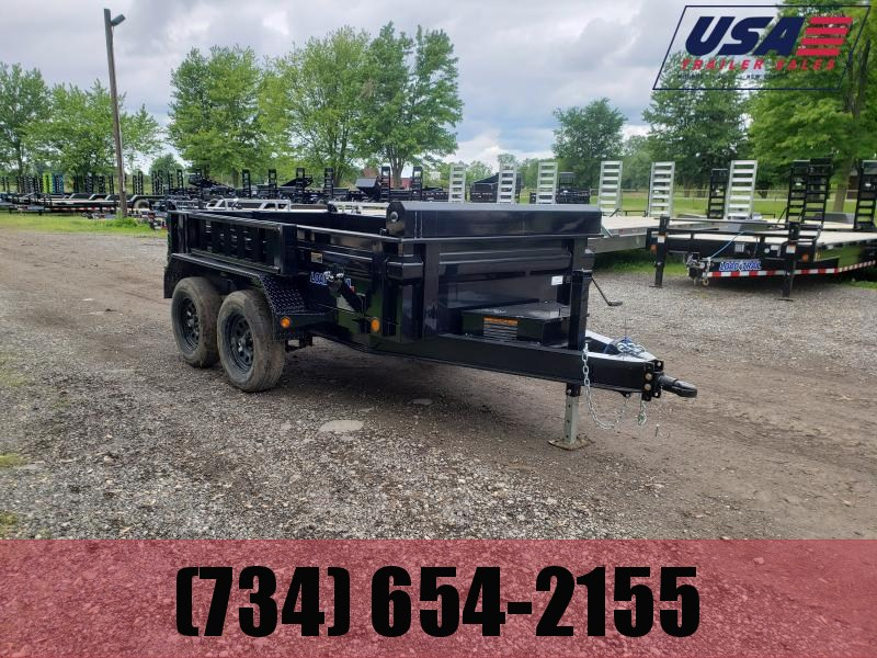 New 5x10 Load Trail 7k Dump Trailer