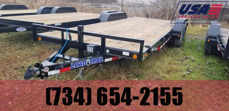 New 83X20 10K Load Trail Carhauler Trailer