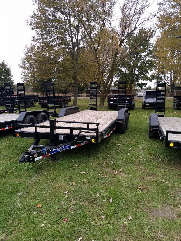 """2019 Load Trail 20"""" 14K Equipment Trailer The Bench Mark Of Quality!!!!!"""