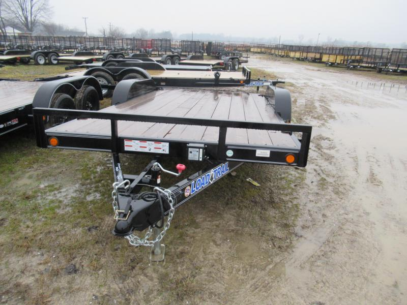 "Load Trail 16""  7K Car Hauler Trailer Michigan #1 Selling Brand Of Trailers"