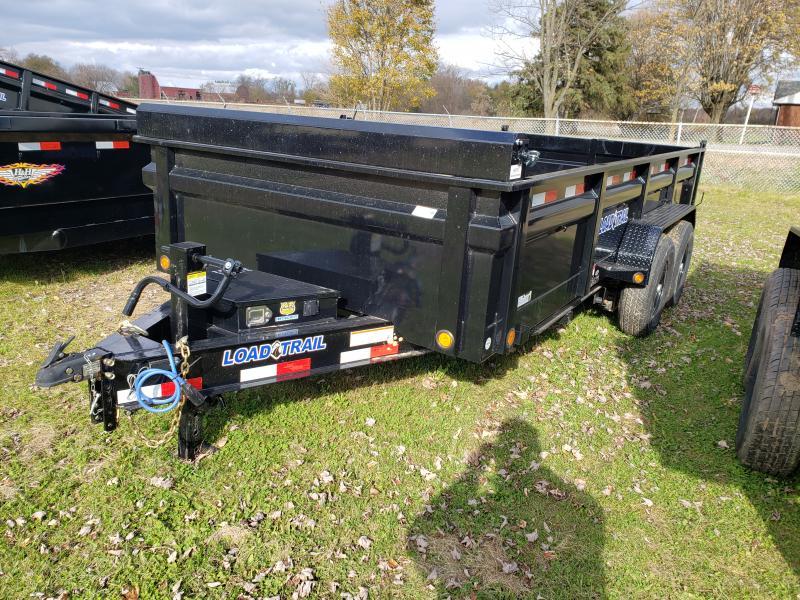 Load Trail 83X16 14K Dump Deluxe Model W/ Drop Axles
