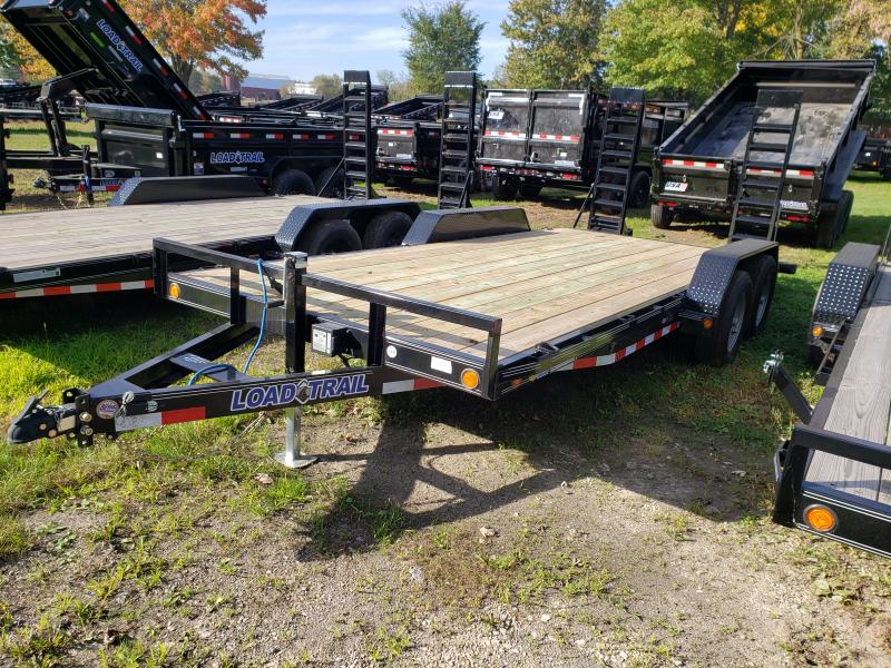 New 18' 10K Load Trail Equipment Trailer W/Rub Rail