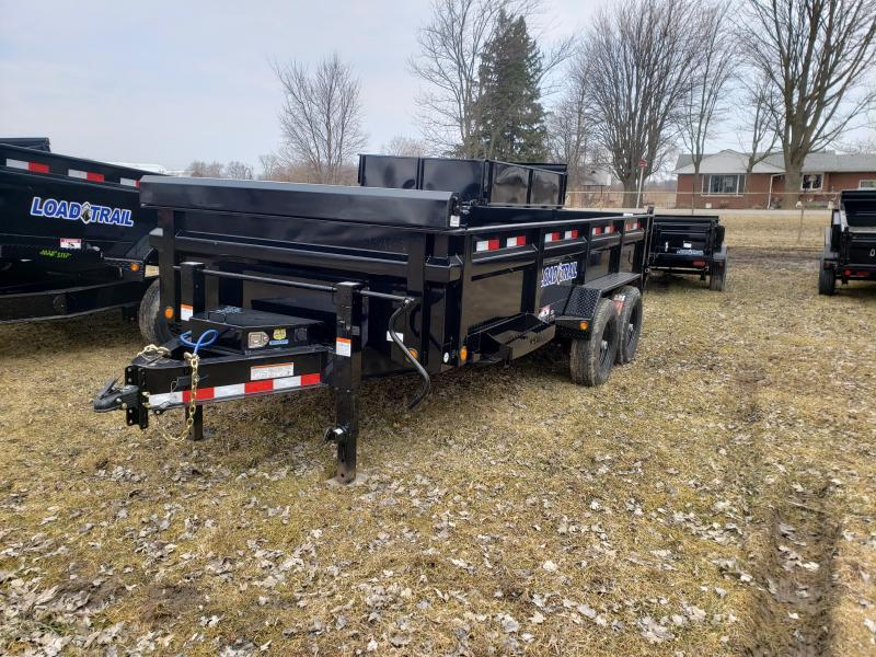 "Load Trail 83"" X 16' 14K Dump Trailer Deluxe Model"