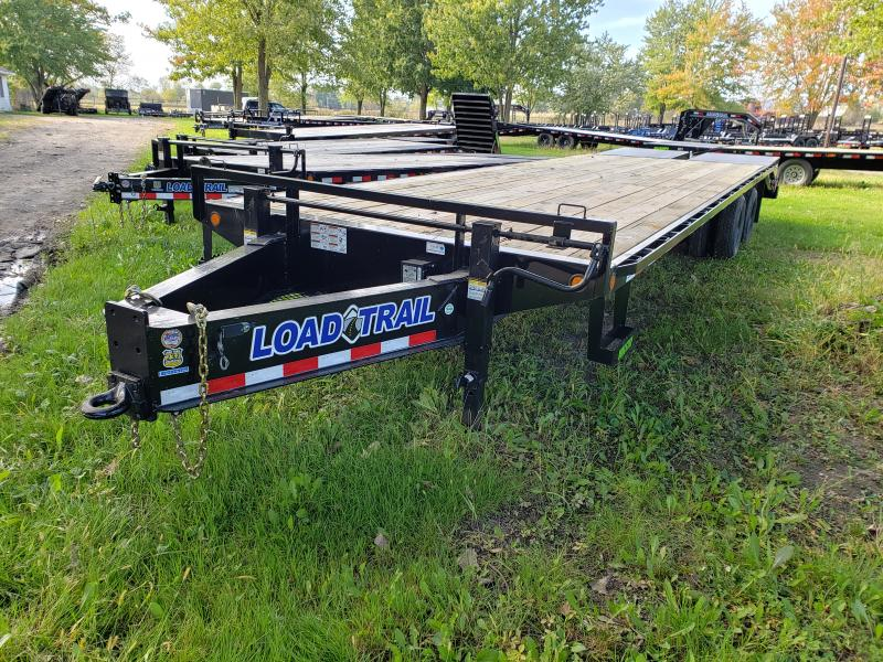 2019 Load Trail 30 Deckover Equipment Trailer W/ Max Ramps Equipment Trailer