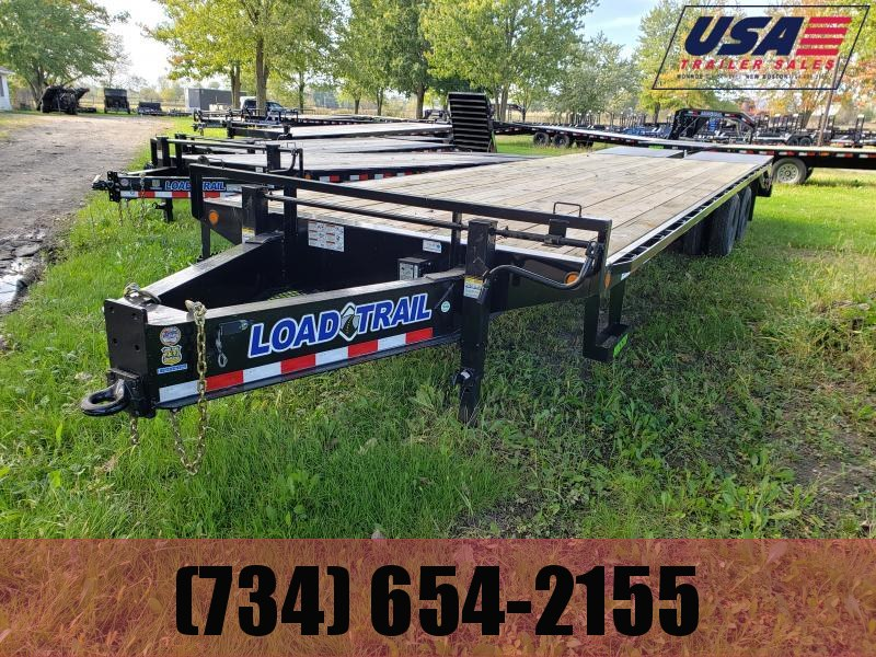 New 30' 20K Deckover Equipment Trailer W/ Max Ramps Equipment Trailer