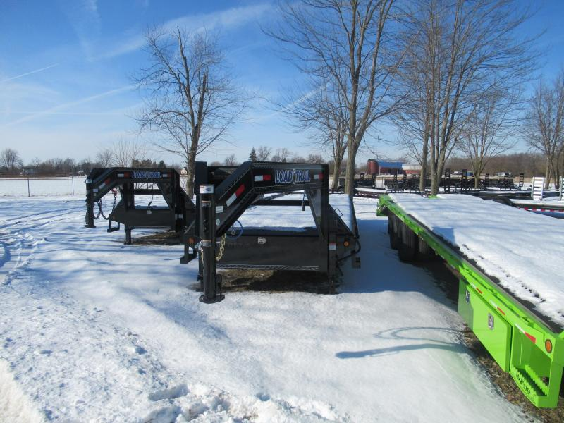 30ft gooseneck 14K Gooseneck Equipment Trailer Load Trail Michigan's #1 selling brand of trailer