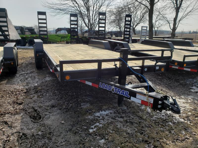 2019 Load Trail 20' 14K Equipment Trailer W/ Flip Up Ramps