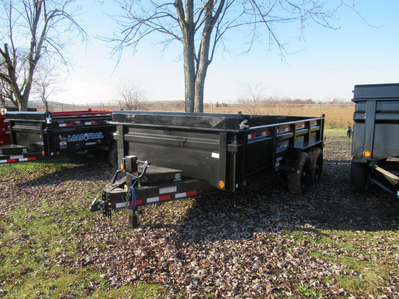 "Load Trail 83"" X 14' Dump Trailer W/ Drop Axles The Bench Mark Of Quality"