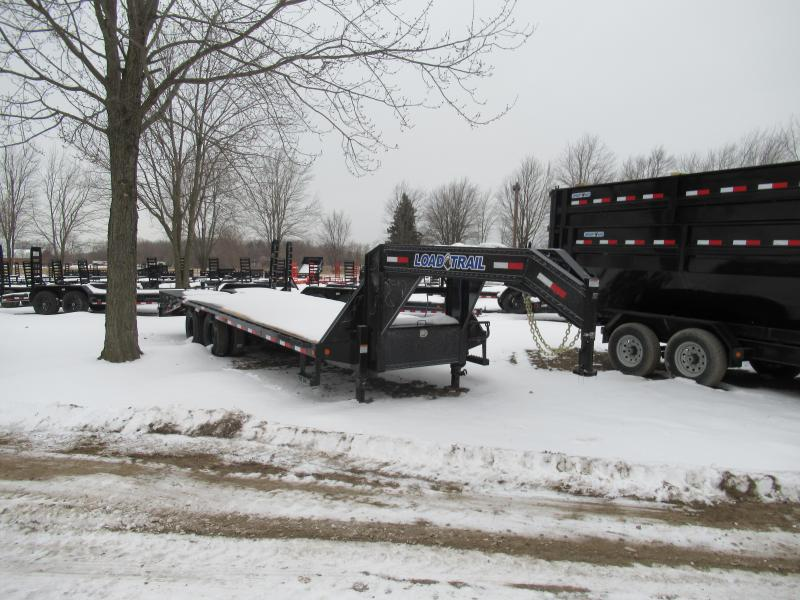25' Low Profile Deckover 22K Gooseneck Equipment Trailer Load Trail Michigan's #1 selling brand of trailer