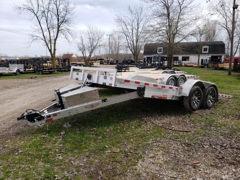 New 82X20 10K Aluminum Tilt Deck Carhauler Speedloader