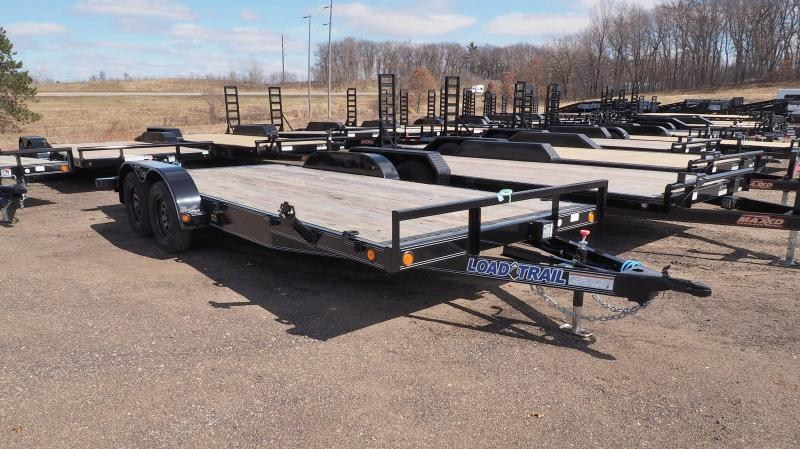 """2020 Load Trail 83""""X16'+2' Dove TA2 Car Hauler"""