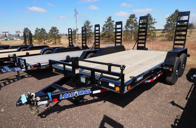 "2019 Load Trail 83""X14'+2' Dove TA5 Equipment Trailer"