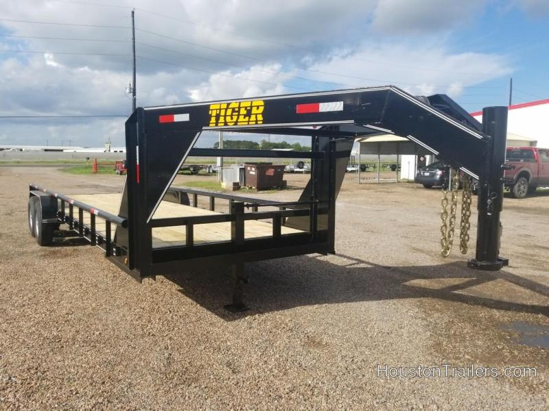 2018 Tiger 24' Lowboy Equipment Trailer TI-26