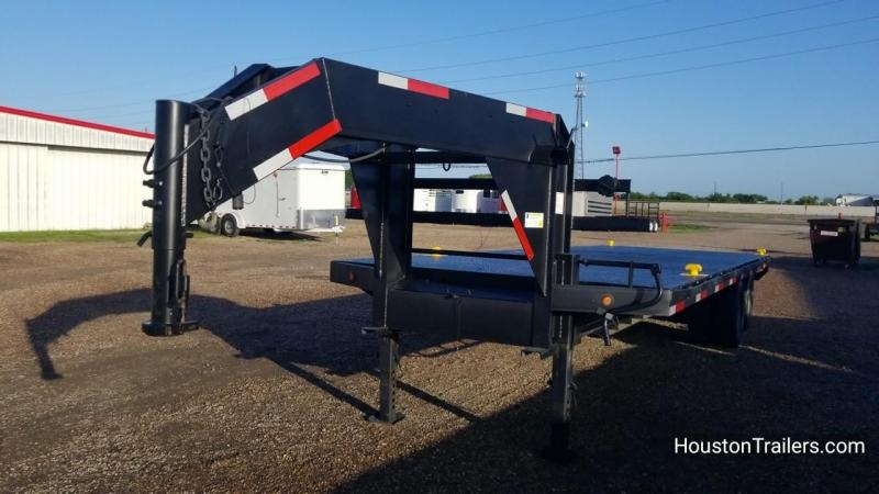 2012 Apache Trailers 24k Flatbed 24' Trailer CO-1032