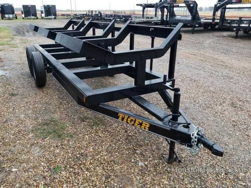 2019 Tiger Trailers 3 Bale Hay Used 8083