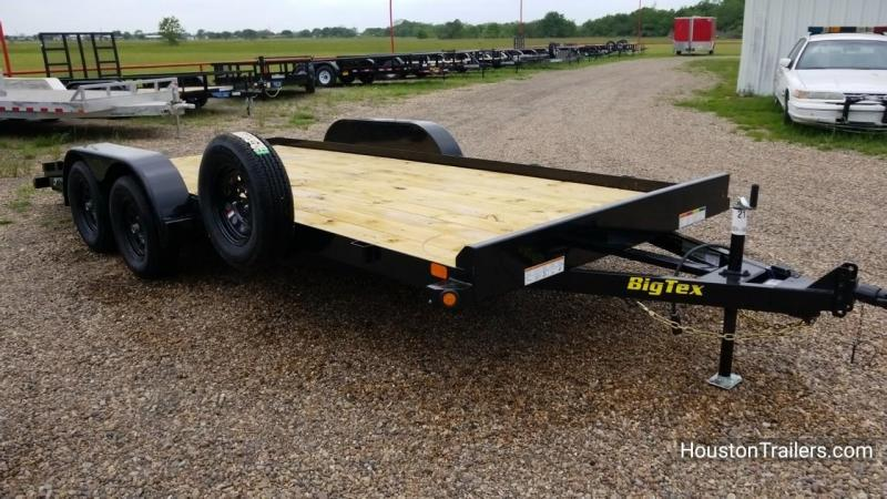 2018 Big Tex Trailers 18' 70CH Car / Racing Trailer BX-144