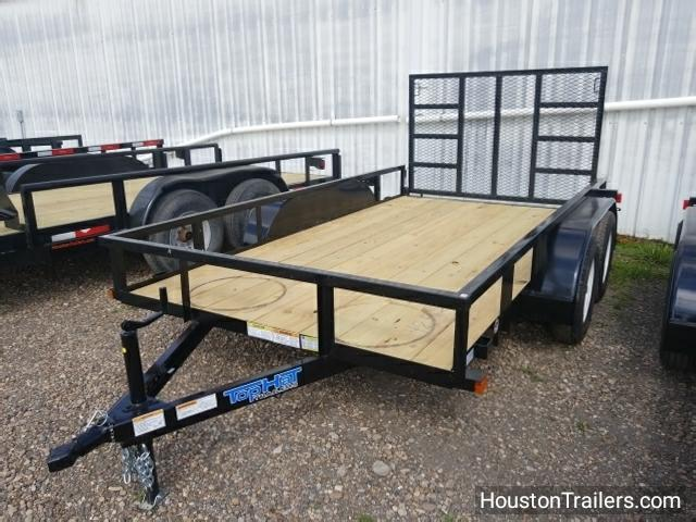 "2018 Top Hat 12' x 77"" LDT Utility Trailer TH-118"