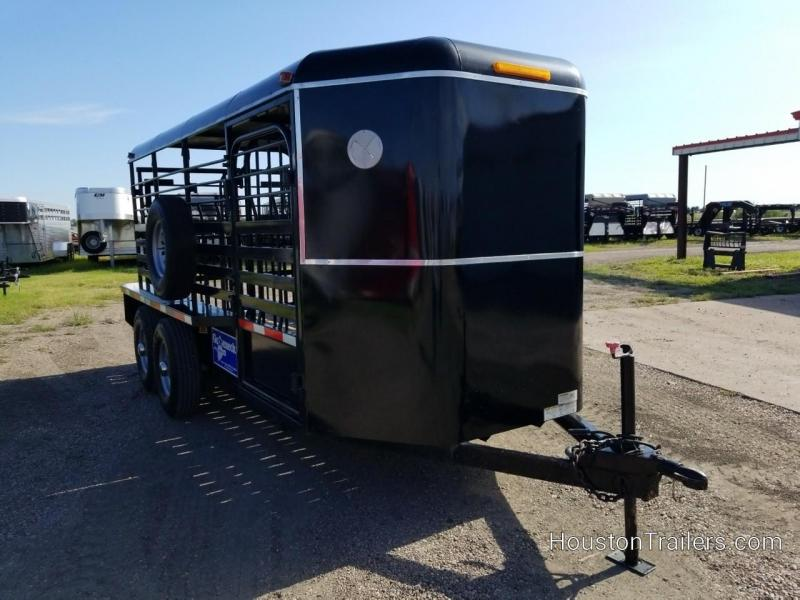 2009 Gooseneck 16' BP Stock Livestock Trailer CO-1053