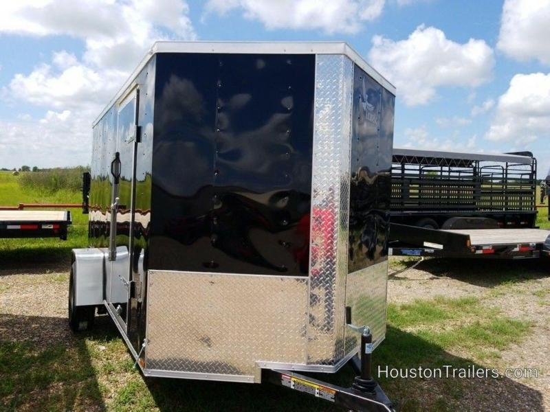 2019 Lark 6' x 12; Enclosed Cargo Trailer LK-107