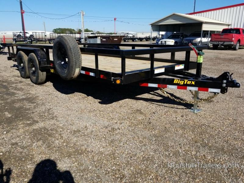 2019 Big Tex Trailers 20' x 7' 14PI HD Utility Trailer BX-163