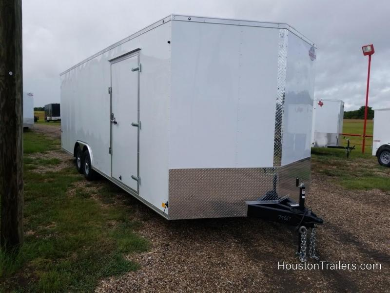 2019 Cargo Mate 24' x 8.5' Enclosed Cargo Trailer FR-55