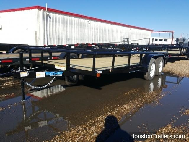 2018 Top Hat Trailers 16' x 7' MP Utility Trailer TH-115