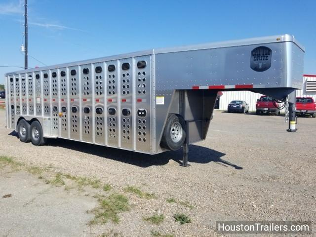 2018 Merritt Trailers 24' GN Livestock  / Cattle Trailer MT-3