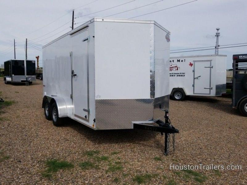 "2020 Cargo Mate E-Series 7 x 14 x 6'6"" Enclosed Cargo Trailer FR-84"